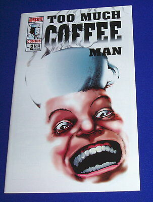 Too Much Coffee  Man 2 Shannon Wheeler. Comic-sized. NM.