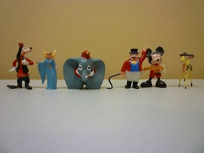 1961 Louis Marx Lot of 26 Disneykins Plastic Figurines