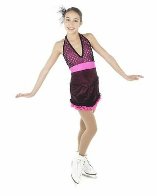 New Competition Skating Dress Xpression 1450 SIZE 12-14