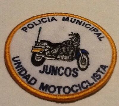 Puerto Rico Juncos Municipal Police Motorcycle Unit Patch