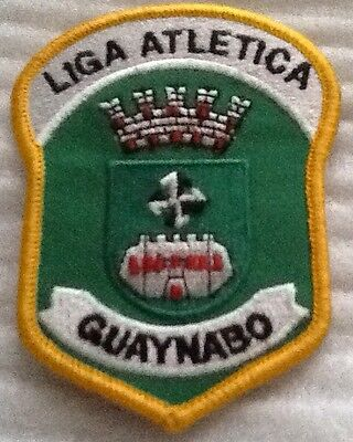 Puerto Rico Guaynabo Municipal Police Athletic League Patch