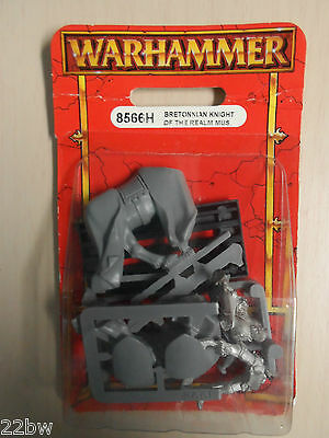 Warhammer Bretonnian Knight of the Realm Musician 8566H Games Workshop --NEW