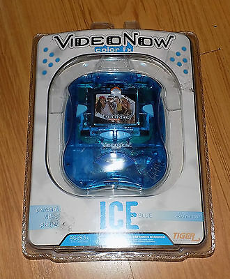 Hasbro VideoNow Color fx Ice Blue Personal Video Player BRAND NEW SEALED RARE