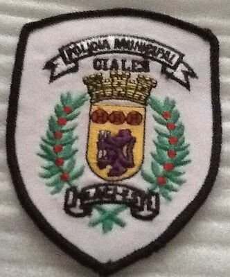 Puerto Rico Ciales  Municipal Police Patch