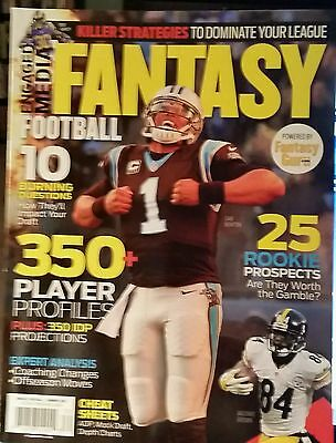 Cam Newton Fantasy Football Magazine Brand New In Collectors Sleeve