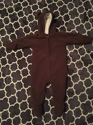 EUC Old Navy Baby Bunting Warm Winter Size 6-12 Months
