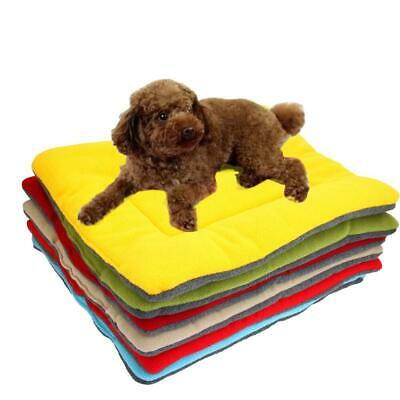 New Pet Dog Cat Soft Cushion Mat Pad for House Bed Kennel Cozy Warm Colorful