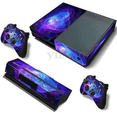 Game Vinyl Decal Skin Sticker Body Wrap For Xbox ONE Console + 2 Free Controller