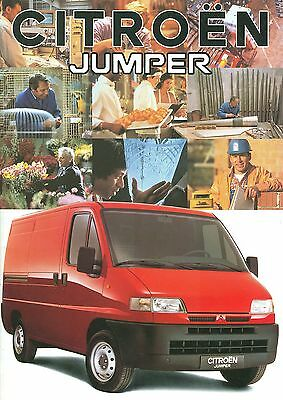 1994 Citroen Jumper Brochure (Dutch)