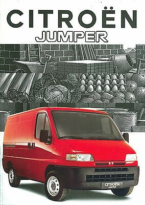 1994 Citroen Jumper Brochure (French)