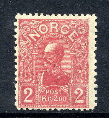 NORWAY 1909 King Haakon 2 Kr. mint