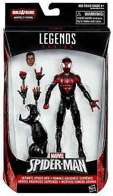 Marvel Legends Spiderman Series Miles Morales Baf Space Venom