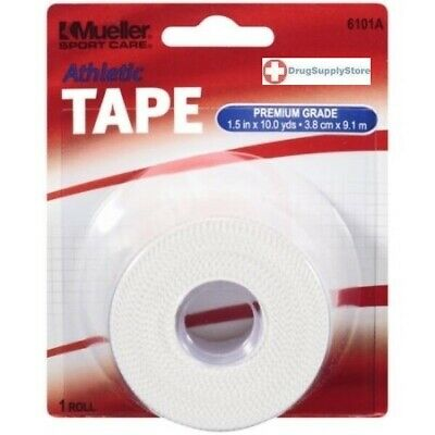 Mueller Athletic Sport Tape White 1.5""