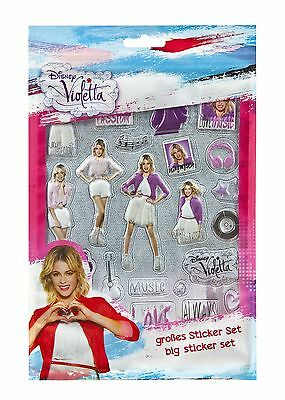 Disney Violetta  Pop up Stickerbogen Stickerset Sticker (24)