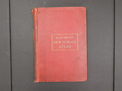 Longman's New School Atlas, 1904