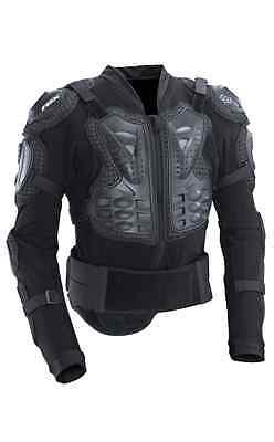 Fox Racing Titan Sport Jacket Body Roost Protector Armor Guard Brace Black 10050