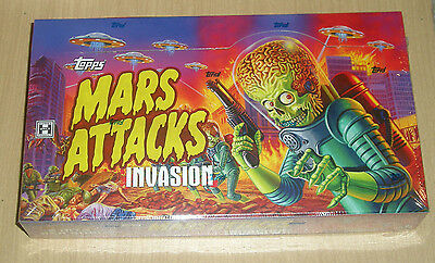 2013 Topps Mars Attacks Invasion hobby sealed 24-pack box