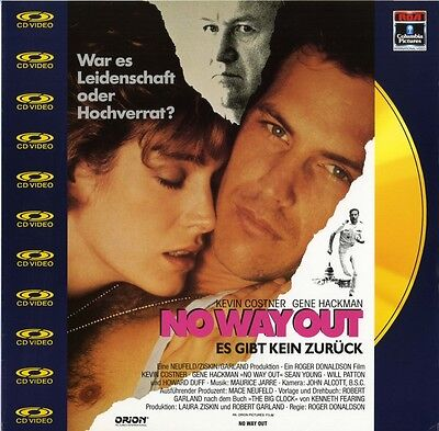Laserdisc Cd Video : No Way Out