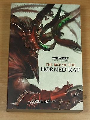 Warhammer Book Softback The End Of Times Book 4 The Rise Of The Horned Rat