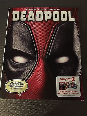 Blu-Ray Cover (COVER ONLY) Marvel DEADPOOL