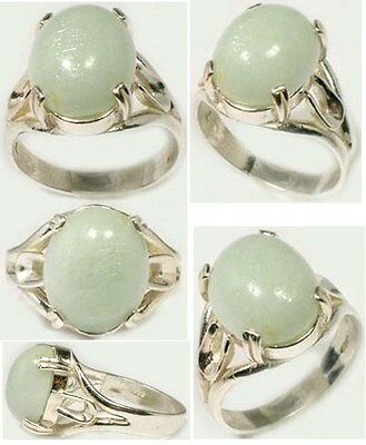 18thC Antique 9ct Aquamarine Medieval Prophecy Moonlight Recharge Crystal Balls