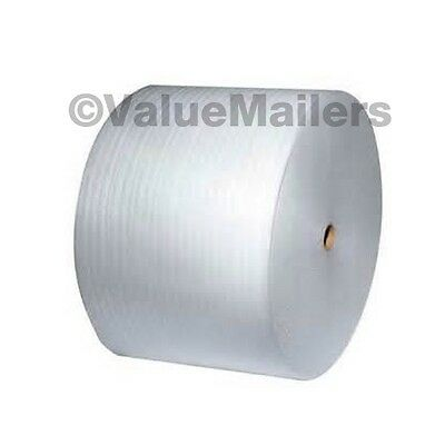 "Micro Foam Wrap 1/8"" x 550' x 12"" Moving Packaging Cushion Perforated Roll"