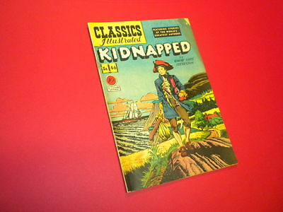 Classics Illustrated #46 - Kidnapped - Hrn #47