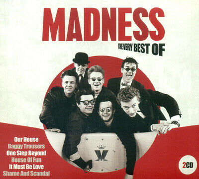 Madness : The Very Best Of CD (2014)