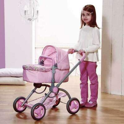 Girls Child Baby Annabell Zapf Pink 2 In 1 Dolls Pram  ~ Lay-By Welcome ~ Xmas