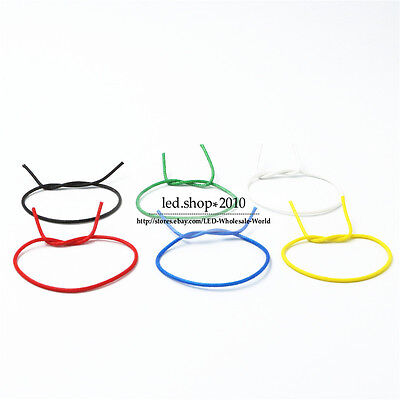 Flexible Stranded of UL 3122 Silicone braided wire 22/24 AWG Various Colours DIY