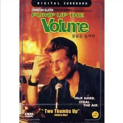 Pump Up The Volume (1990) DVD - Christian Slater (New & Sealed)