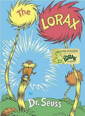 The Lorax by Dr Seuss (English) Hardcover Book Free Shipping!