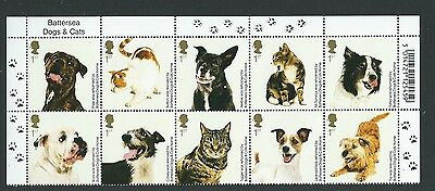 Great Britain 2010 Cats And Dogs Titles Set Of 10 Unmounted Mint, Mnh