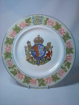 Mulberry Hall QUEEN MOTHER 80th Birthday Cabinet Plate Ltd Ed 10.6""