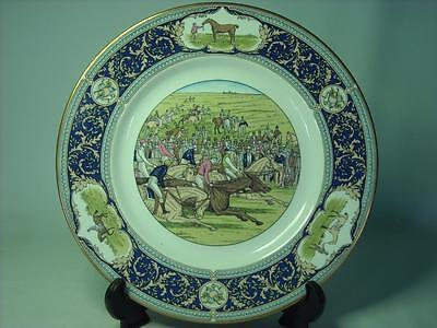 Caverswall LIMITED EDITION DERBY PLATE 200 Years Eleanor, Bay Middleton, Diomed