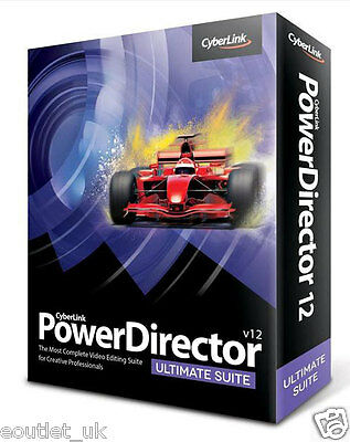 CyberLink PowerDirector 12 Ultimate Suite Video Editing Software for Windows PC