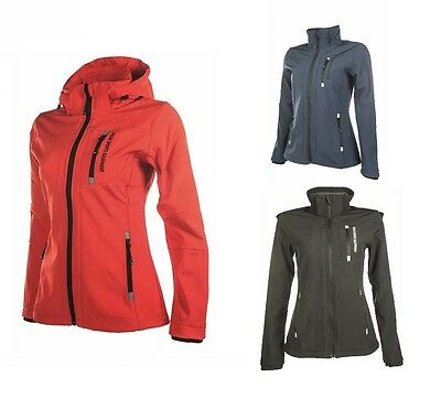 HKM Softshell Sport Waterproof & Breathable Fabric Coat / Riding Jacket RRP £56