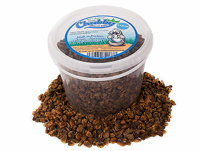 3 Litre Dried Silkworm Pupae for Wild Birds Fish Koi Turtles Terrapin Food