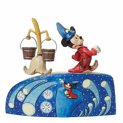 Disney Traditions Summoning The Stars Fantasia Limited Edition New