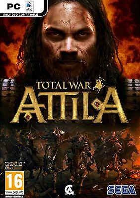 Total War Attila PC Sega Game Boxed New and Sealed
