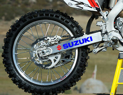 Suzuki RM x 2 -  Swing arm Decal's Will fit RM, PE, DR, 125, 250 non oem