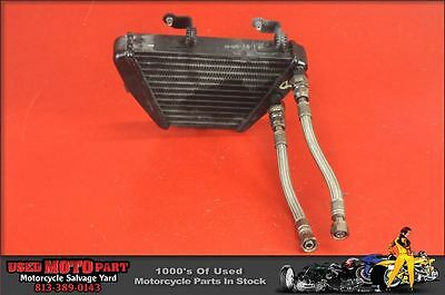 08 09 10 11 12 Ducati 1198 1098 848 Engine Oil Cooler With Line Hoses Radiator