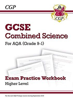New Grade 9-1 GCSE Combined Science: AQA Exam Practice Workbook - Higher-CGP Boo