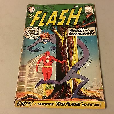 THE FLASH #112 Silver Age comic 1st Appearance ELONGATED MAN Key #Ab