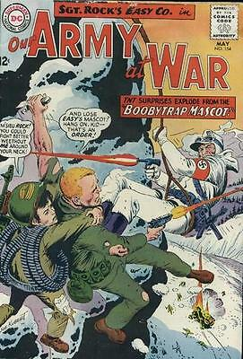 OUR ARMY AT WAR #154 G/VG, Joe Kubert C/A, Sgt. Rock, DC Comics 1965