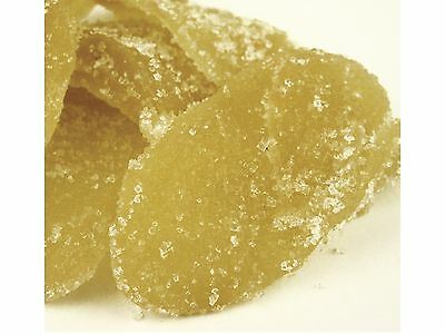 Candied Ginger Slices, half pound, Crystallized Ginger with Free Shipping