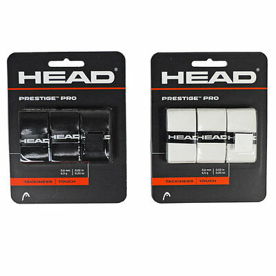 3er Pack HEAD PRESTIGE PRO OVERGRIP Griffband Tennisschläger Grip Tapes 282009
