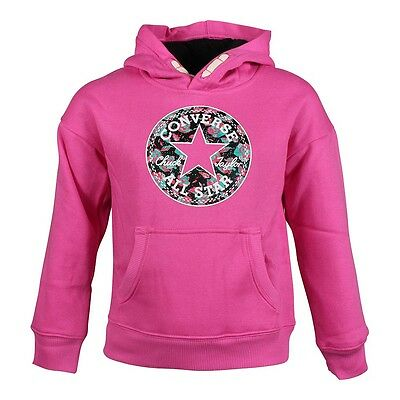 Converse KIDS Hoodie Print Filled Chuck Mod Pink All Star Stern Bunt für Kinder