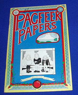 Pagfeek Papers!: underground comic 1973. first print.