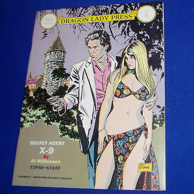 Secret Agent X-9 Al Williamson. Dragon Lady Press no 4. VFN.
